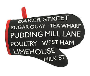 Baker Street Oven Mitt - cooking & food preparation
