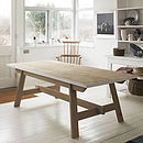 Welsh Oak Farmhouse Trestle Table