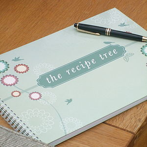 Family Heirloom Recipe Book - gifts for families