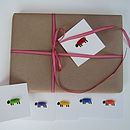 12 Woolly Sheep Gift Tags