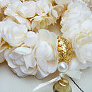 Jasmine Fabric Flower Garland