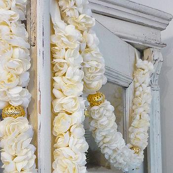 Jasmine Fabric Flower Garland