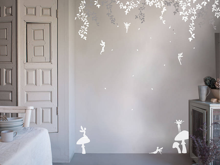 Enchanted fairy wall stickers by bambizi - Decorative wall sticker ...