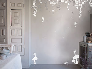 Enchanted Fairy Wall Stickers - bedroom