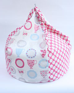 Patchwork Beanbag - soft furnishings & accessories