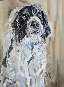 Personalised Pet Portrait - contemporary art
