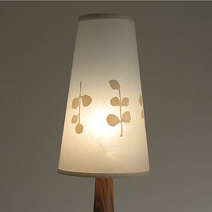 Round Leaf Cone Table Lamp - lighting