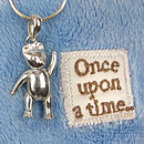 Silver Teddy Necklace