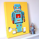 Sparking Robot 3 Canvas Print