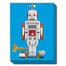 Sparking Robot 2 Canvas Print