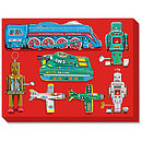 Tin Toy Art Picture No 2 Canvas Print