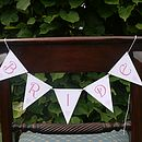 Bride & Groom Signs - Pink Font 4