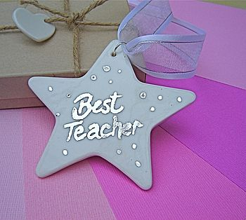 Personalised Star For The Teacher