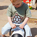 Child's Tee Shirt With Trustim The Turtle