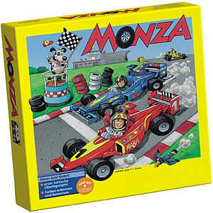 Monza Car Racing Game - traditional toys & games
