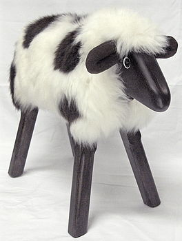 Jacob Lamb Seat Or Footstool