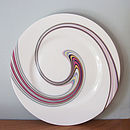 Sandwich Plate  in Swirl