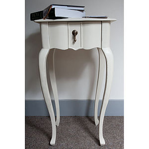 Classic One Drawer Lamp Table - furniture