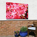 Personalised Garden Photo Panel