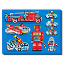 Tin Toy Art Picture No1 Canvas Print
