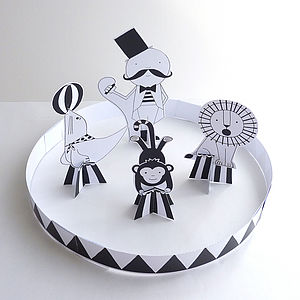 Cut-Make-Play Circus - stationery & creative activities