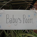 Babies And Childrens Room Signs
