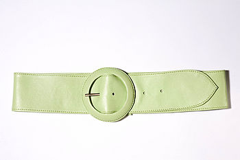 Saimia Leather Belt
