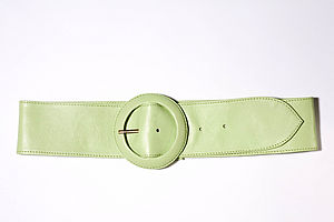 Saimia Leather Belt - belts