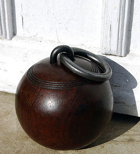 Lawn Bowls Doorstop - shop by personality