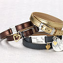 Personalised Luxe Leather Wraps