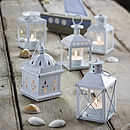 Set Of Five Assorted Metal Lanterns