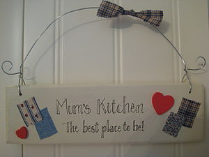 Kitchen Sign - outdoor decorations