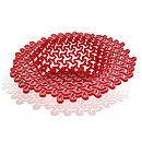 Chilli Red Acrylic Decorative Bowl