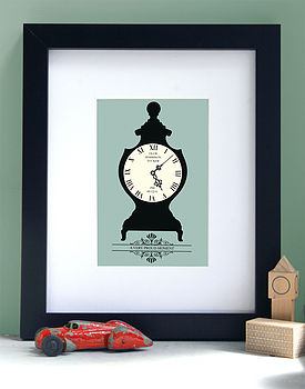 Personalised Moment In Time Art Print