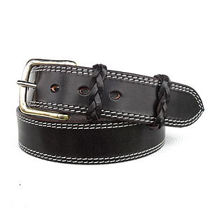 Mawdsley English Leather Belt - belts