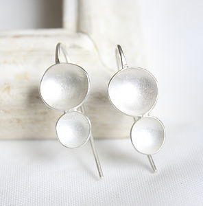 Double Pod Earrings - earrings