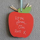 Personalised Thank You Teachers Apple