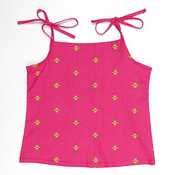 Girl's Cotton Vest