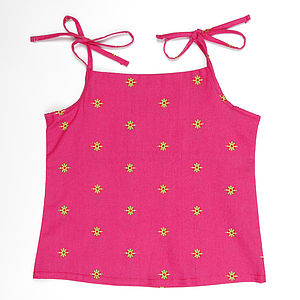 Girl's Cotton Vest - clothing