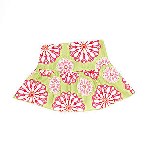 Girl's Cotton Skirt - clothing