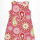 Girl's Cotton Shift Dress
