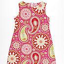 Girl's Cotton Shift Dress