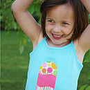 Girl's Cotton Jersey Vest