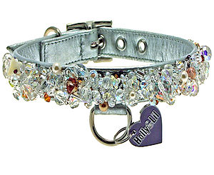 """Crystal Palace"" The Ultimate Bling Collar - dogs"