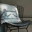 Tower Bridge Cushion