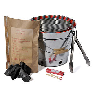 'Bucket of Fun' Portable BBQ Kit