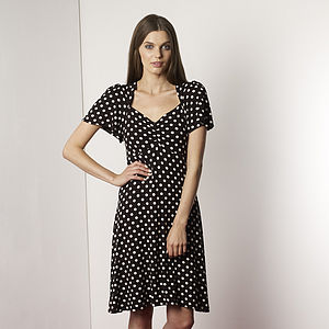 Sale!! Polka Dot 50s Style Dress Limited Stock Left - women's fashion