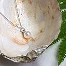 Timeless Pearl Pendant Necklace