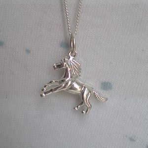 Horse Pendant Necklace - children's jewellery