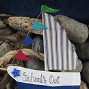 Personalised Gift Boat